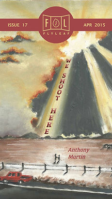 We Shoot Here by Anthony Martin Flyleaf Literary Journal Chicago Issue #17