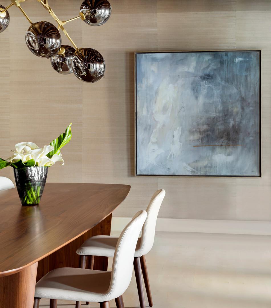 Boston Harbor   Lisa Tharp Design   Dining Room