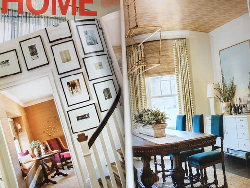 "NEW ENGLAND HOME Magazine on Our Design Work: ""Refined Sophistication and Unpretentious Ease"""