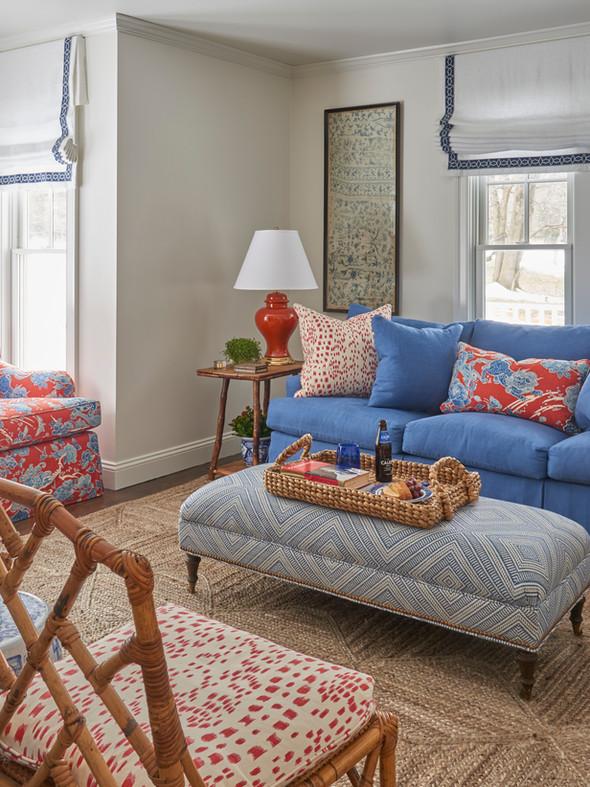 Locust Valley Cottage Sitting Room