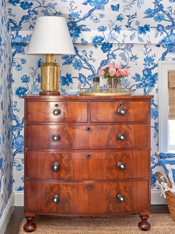 Locust Valley Cottage Master Bedroom