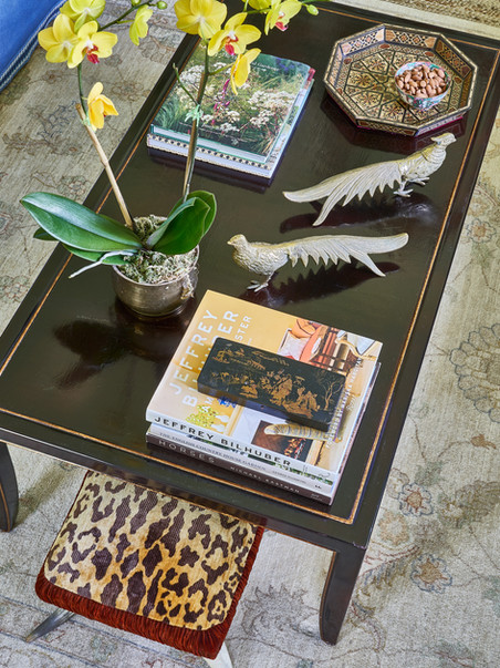 A Coffee Table is an opportunity to add artistry to your space with accessoires