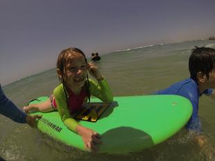 טיול משפחות לחוף הבונים
