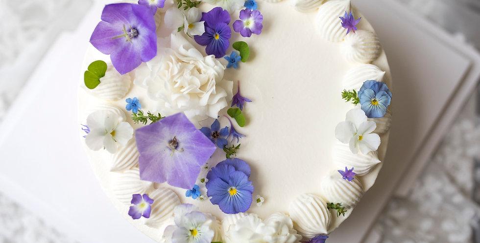 fresh flower cake 2