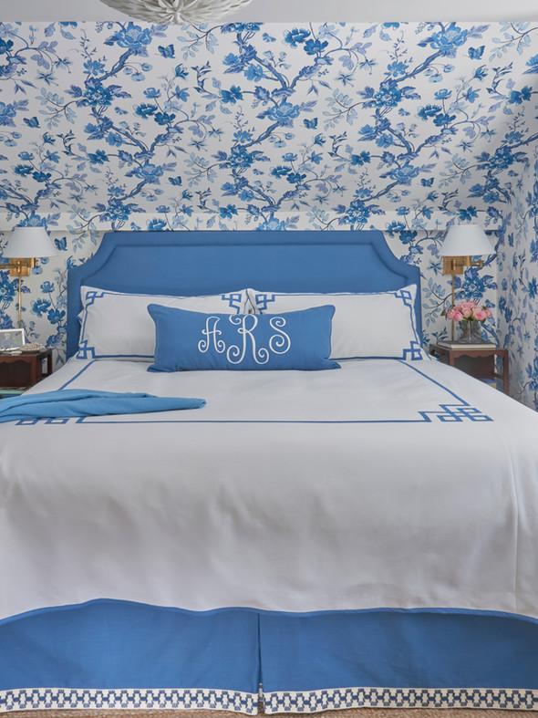 Locust Valley Cottage Bedroom