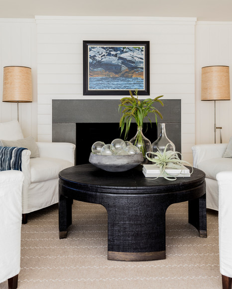 Fireplace Wall in Living Room