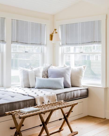 Window Seat in Living Room