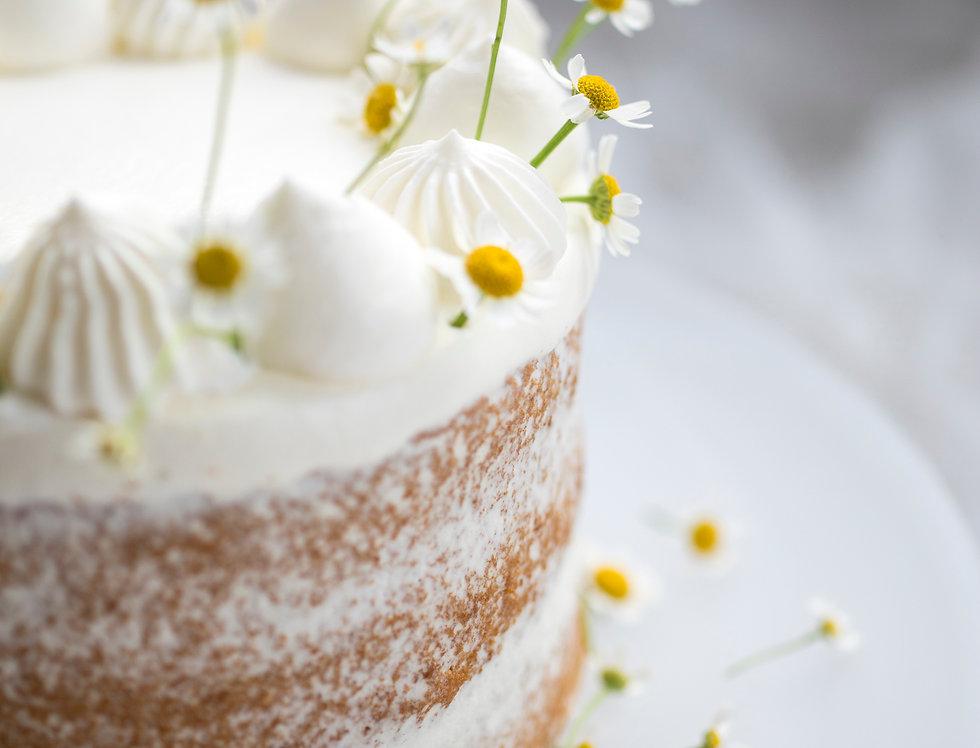 fresh flower cake 8