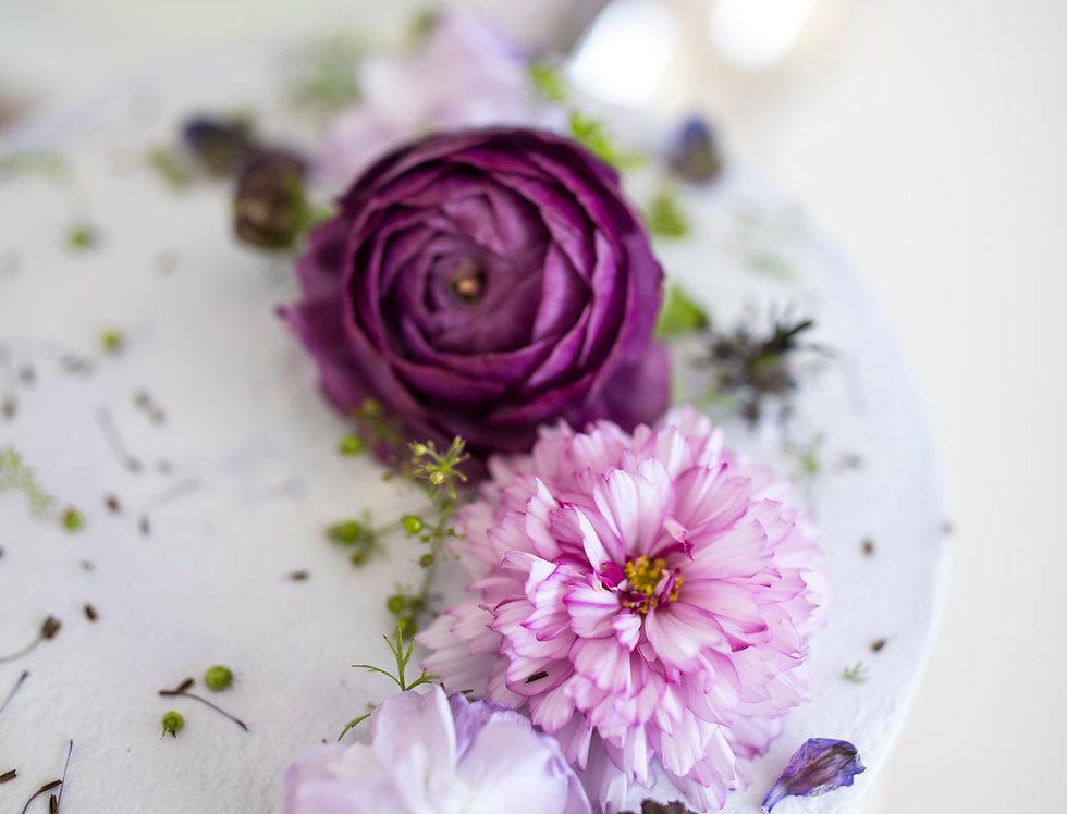 fresh flower cake 9