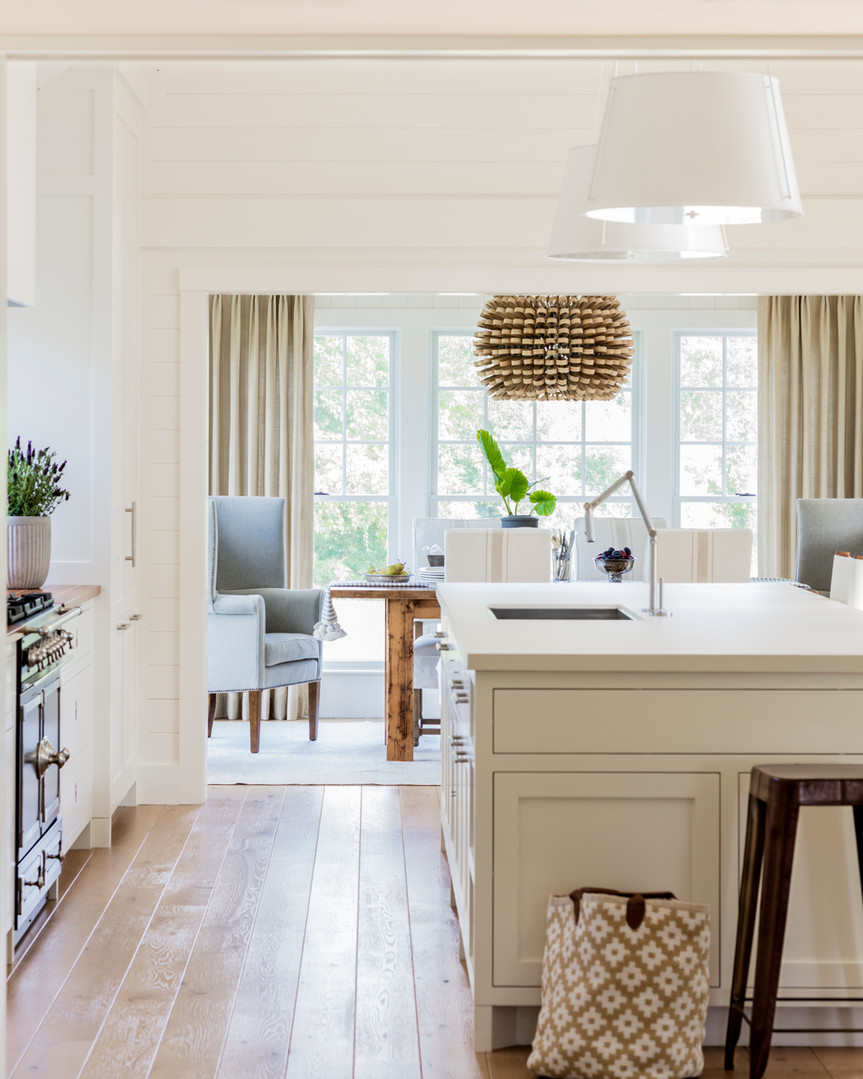 View Into Breakfast Nook from Kitchen