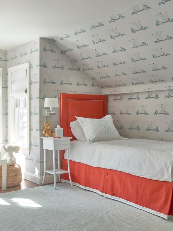 Locust Valley Cottage Living Boys Room