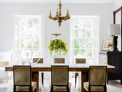 Our Feature in Canada's STYLE AT HOME magazine: A Period Home Gets a Refined Makeover...
