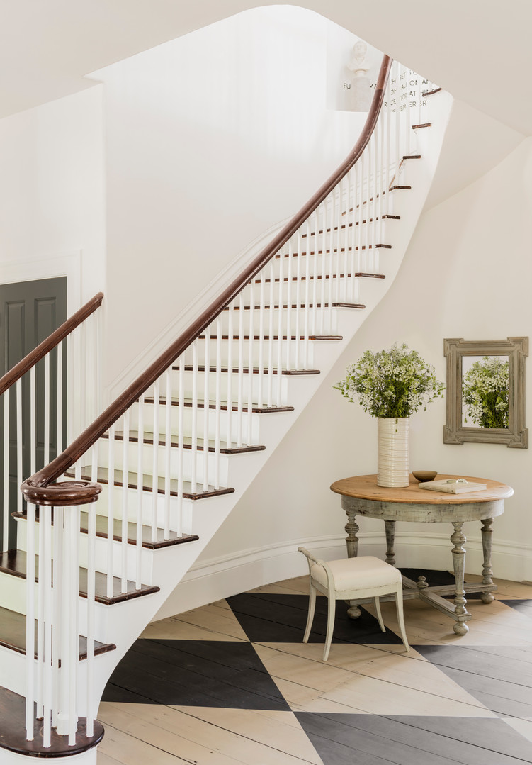 Staircase in Entry Hall