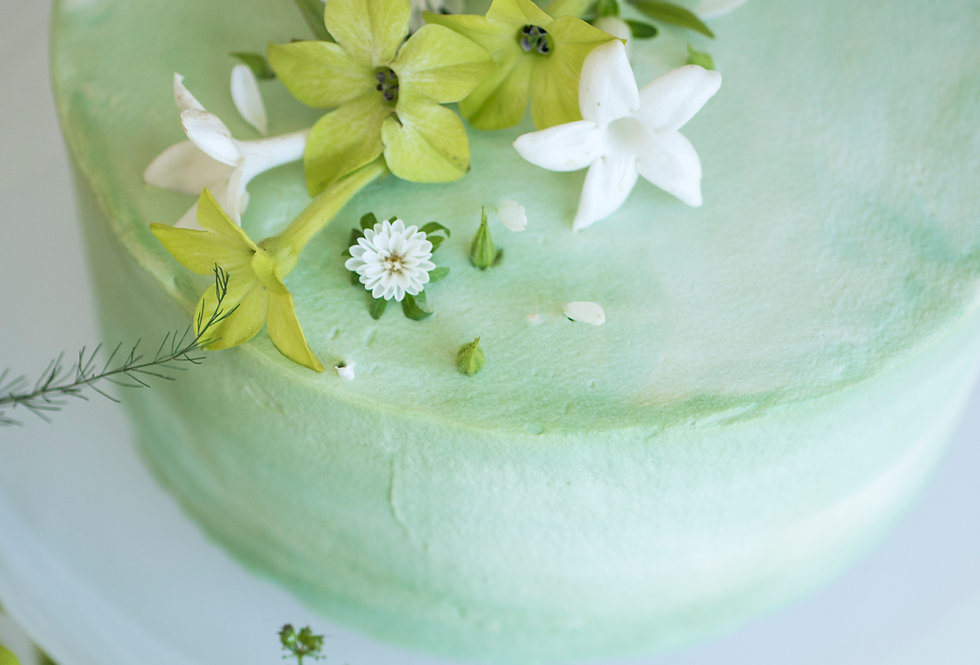 fresh flower cake 6