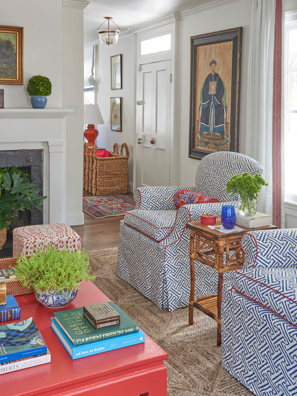 Locust Valley Cottage Living Room Chairs
