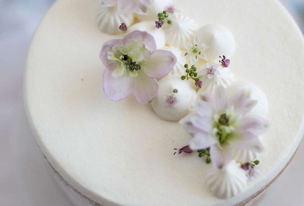 fresh flower cake 7
