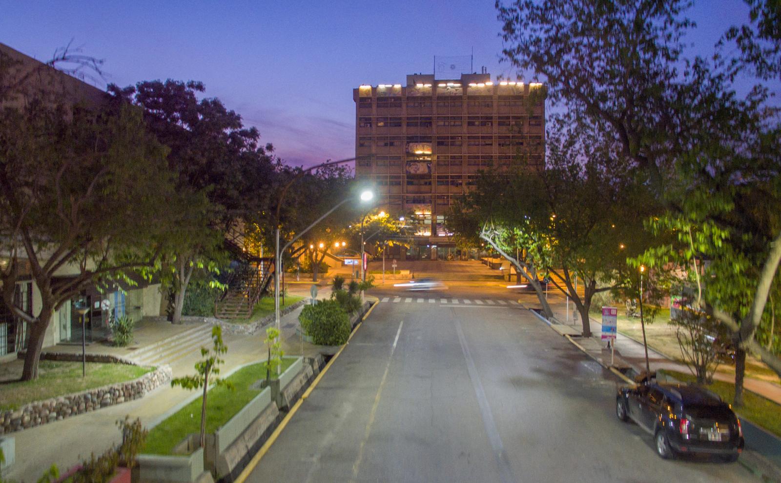 Iluminación Urbana- Avenida