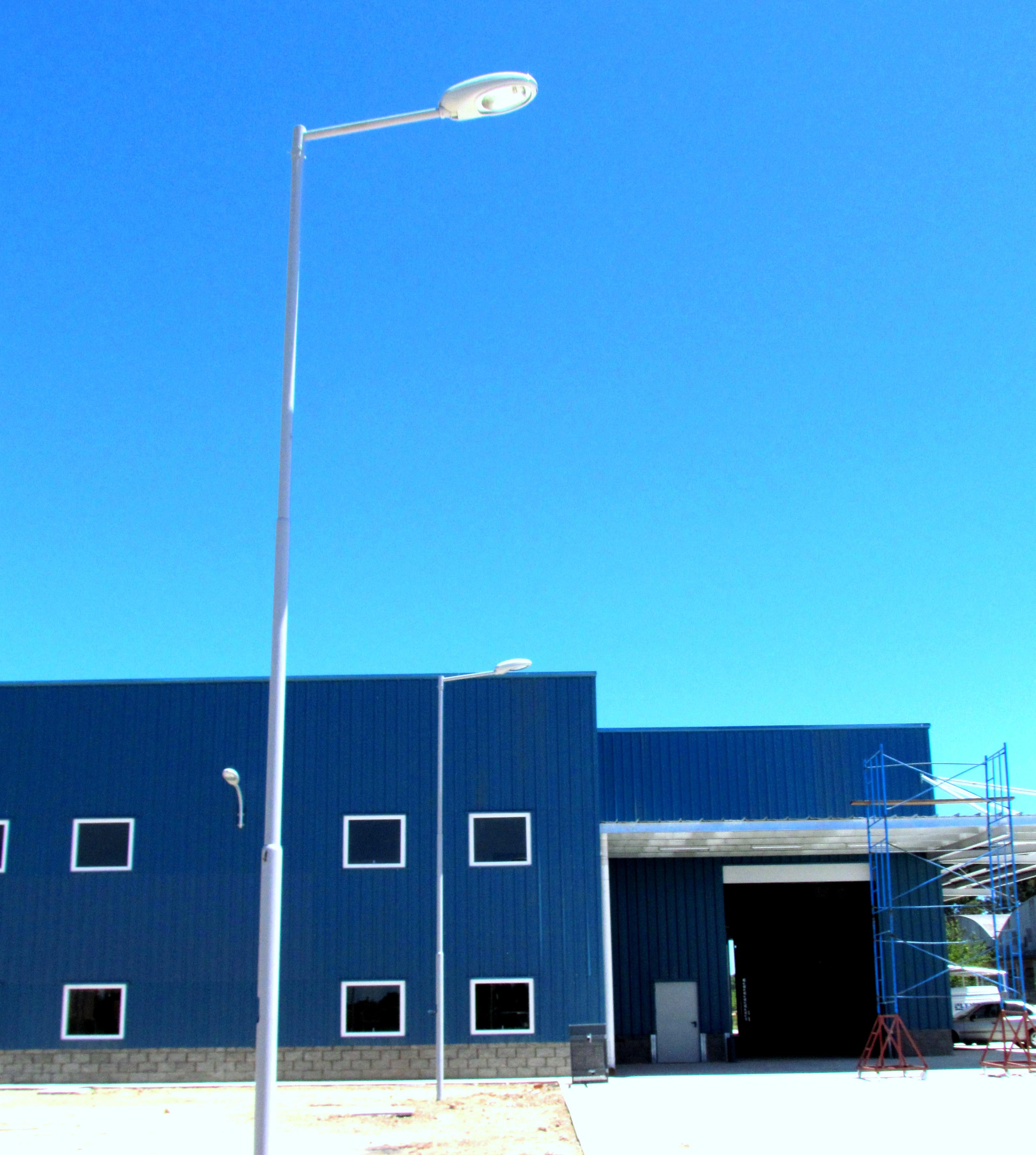 Iluminación Urbana Planta Industrial
