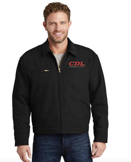 Duct Cloth Coat - No Hood