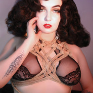 2019 - Amsterdam Shibary by Natsumi Scarlet.  In collaboration with Lust and Love lingerie. Photographer: Peter Diablow (NL) MUAH: Miss Chrissy Kiss