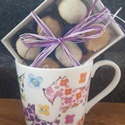 China Mug & Mixed Truffles