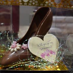 Ladies Chocolate Shoe