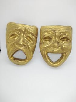 Chocolate Theatre Masks