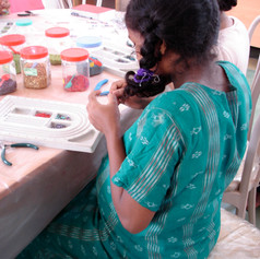 An early beading workshop from 2006