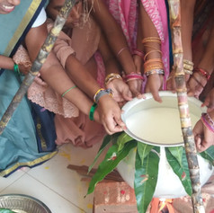 Celebrating Thai Pongal at the Centre
