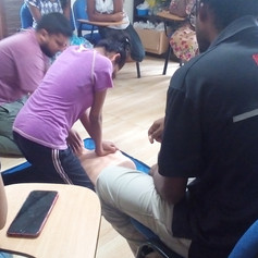 First Aid Sessions with Nivendra