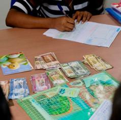 Money Management and Filling Bank Slips