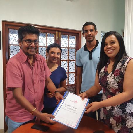 Indu and Sanwada Dharmasena - Brand Ambassadors to unlock potential!