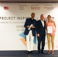 2015 Runner Up at Project Inspire