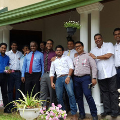 Colombo Round Table Visits the Centre