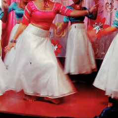 A Children's Day celebratory dance at a shelter