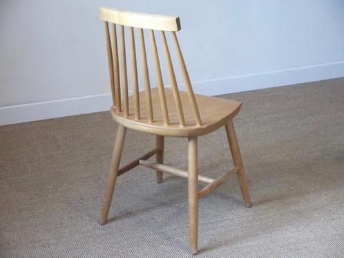 chaise barreaux esprit tapiovaara style scandinave ann es 60 anterieur design. Black Bedroom Furniture Sets. Home Design Ideas