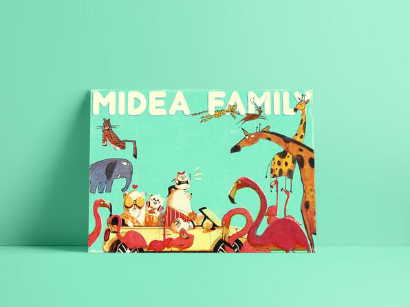 Midea Family Branding