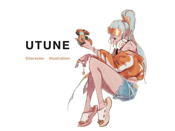 UTUNE Character Illustration
