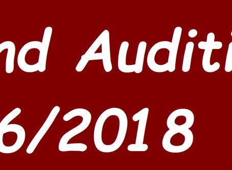 Blind Audition 6/2018
