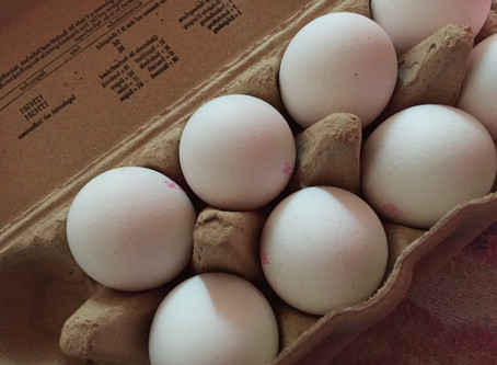 AUFTRAG: rohe Eier werfen!