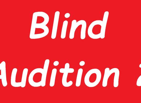 Blind Audition 2/2018