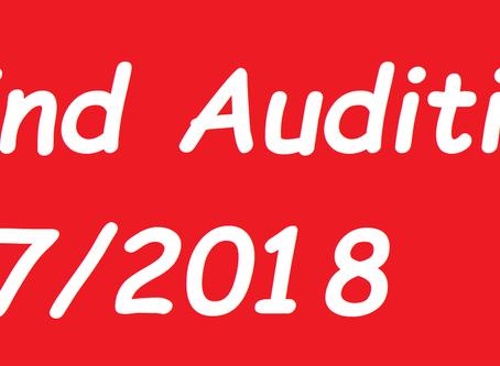 Blind Audition 7/2018