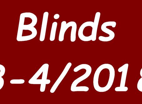 Blind Audition 3 und 4/2018