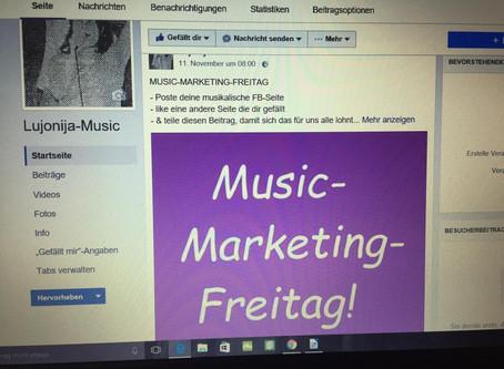 Der Music-Marketing-Freitag