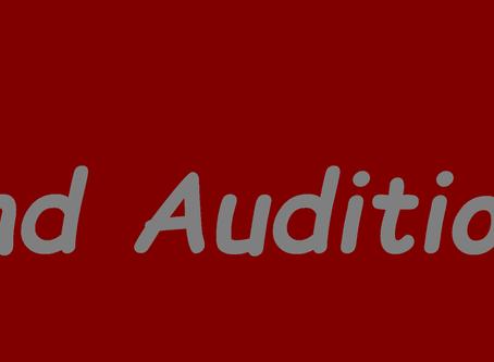 Blind Audition 1/2018