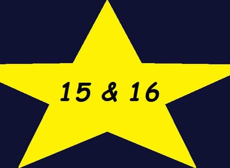 Adventskalender 15 & 16/2016: Umgeworfene Planungen