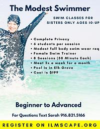 Swim Classes for Sisters