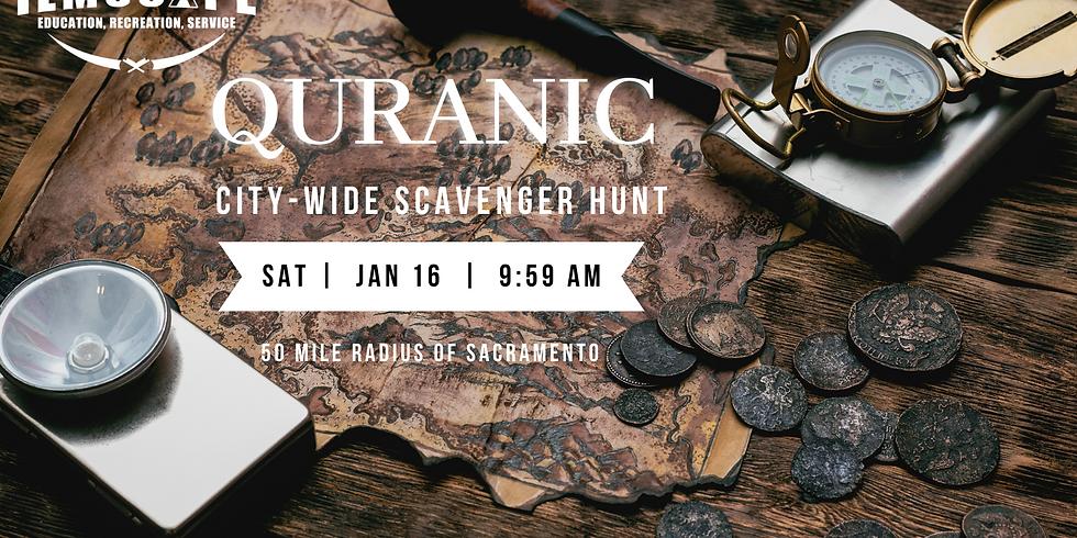 City-Wide Quranic Scavenger Hunt