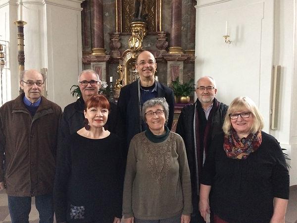 Vorstand Freundeskreis Saarpfälzische Musiktage in der Schlosskirche Blieskastel e.V.