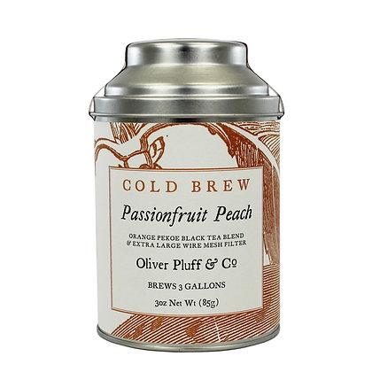 Passion Fruit Peach Cold Brew Tea